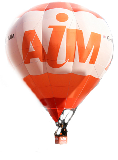 aim hot air balloon