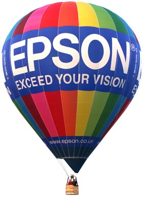 Hot Air Balloon Branded Advertising Corporate Events